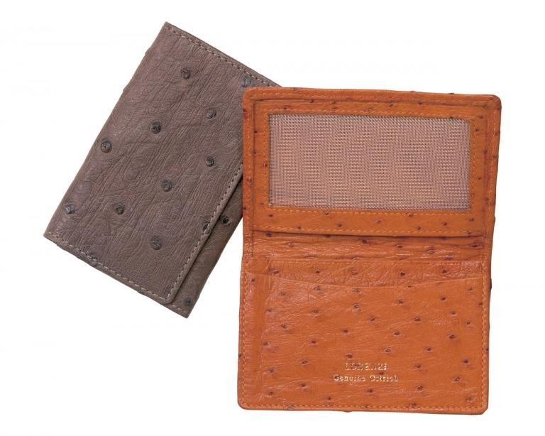 Lorenzi Ostrich Cardcase