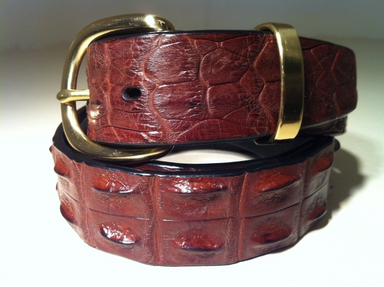 J Walker Saltwater Crocodile Belt