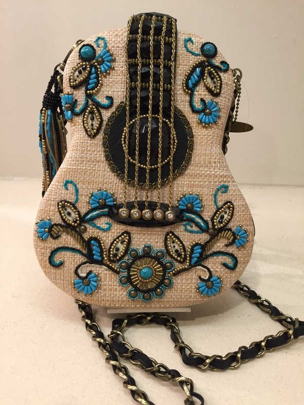 mary frances Guitar Handbag Unplugged