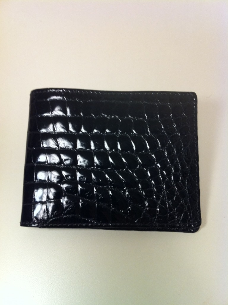 LORENZI Crocodile Billfold