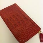 STEFAN MANN 7068 Zip Ladies Crocodile Wallet