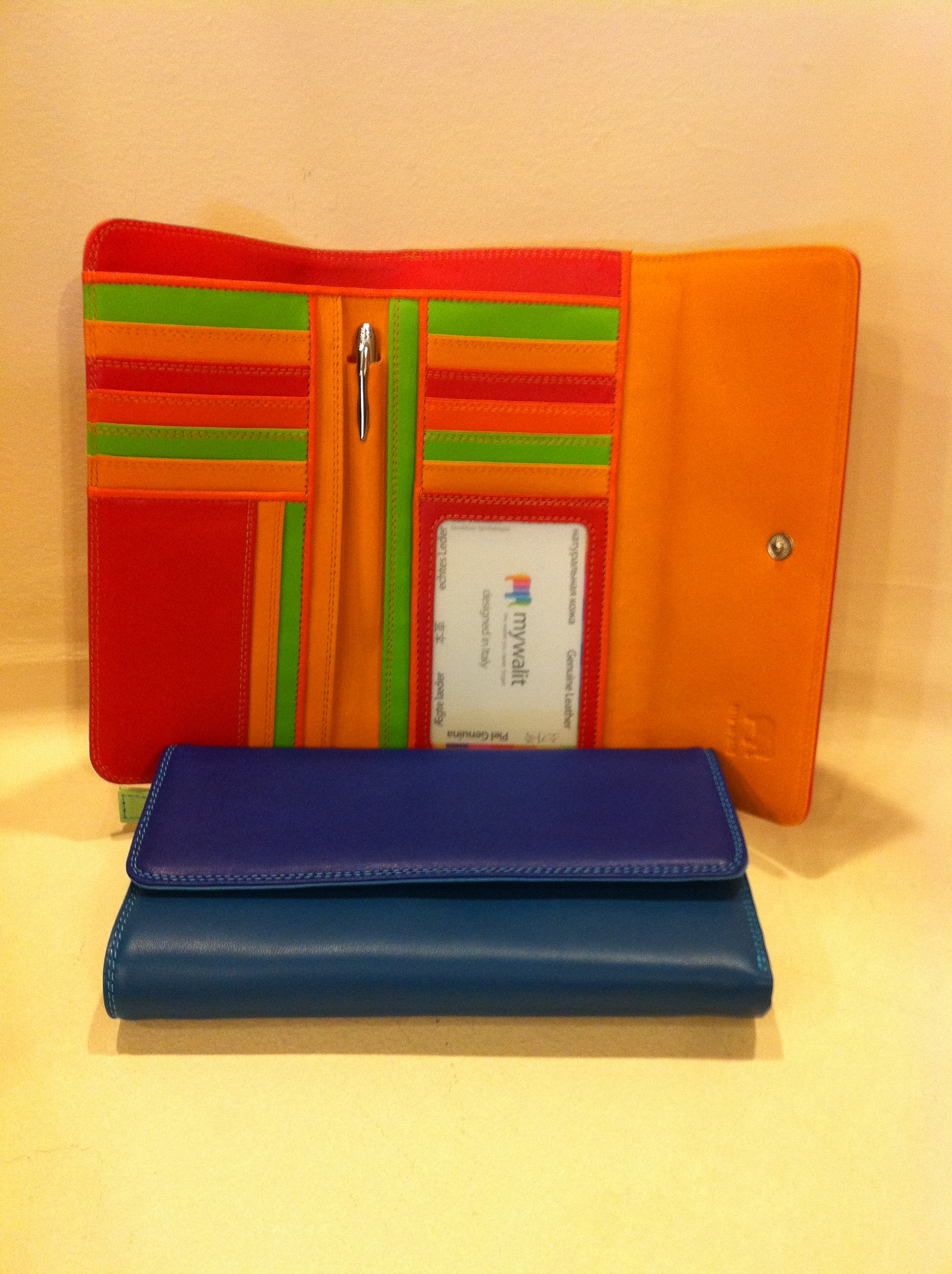 MY WALIT #269 Tri-Fold Wallet with Outer Zip