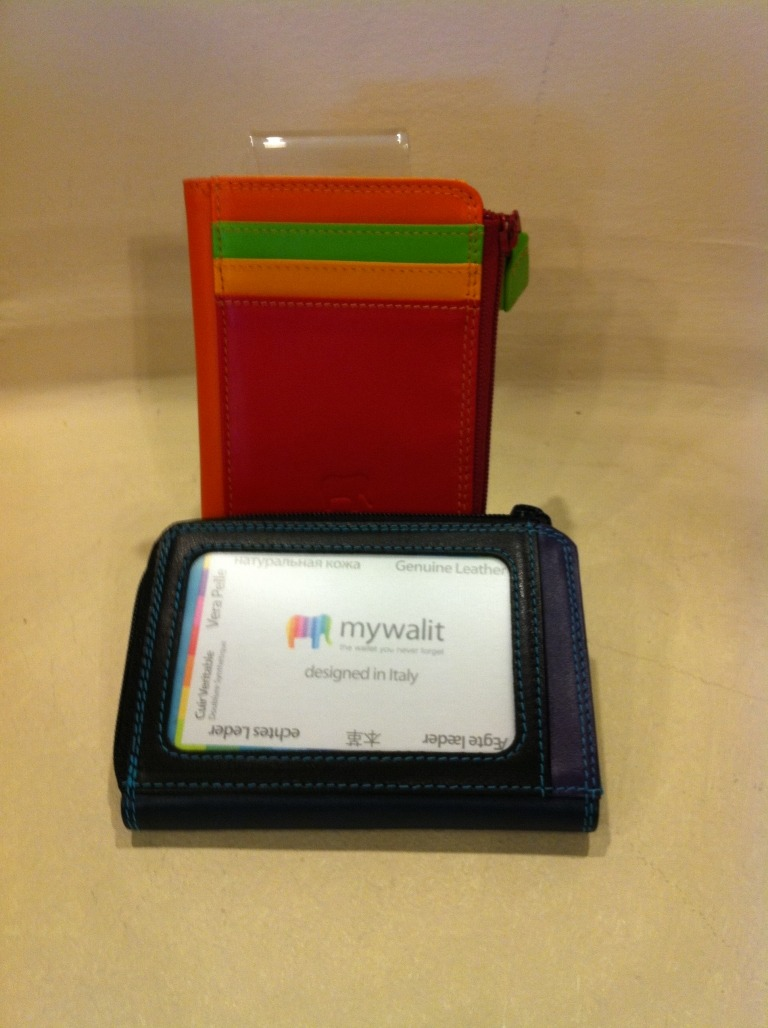 MY WALIT #334 Zip Coin/Card/ID Case